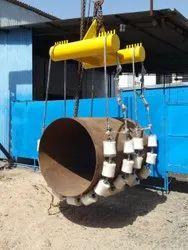 Pipeline Lowering Cradle