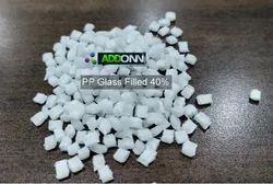 Glass Filled Polypropylene Compound 40% Natural