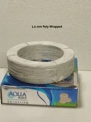 1.5 mm Poly Wrapped Submersible Winding Wire