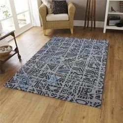For Hotel,Office Grey Hand Tufted Woolen Carpets