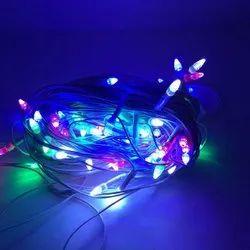 4.4 V Copper BlanTech Decorative 15 Feet Multi Color Rice LED Light, For Decoration