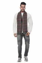 Check Woolen Scarves