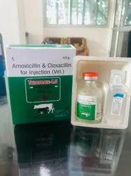 Amoxicillin & Cloxacillin for Injection (Vet.)