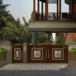 Entrance Gate Design For House
