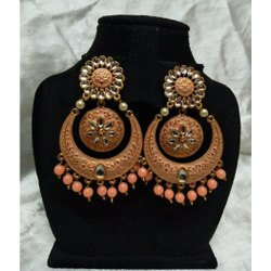 Wedding Multicolor Traditional Imitation Earrings
