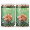 Healthy Treat Roasted California Almond 400gm - Pack Of 2 - 200 Gm Each