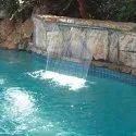 Swimming Pool Cascade Fall