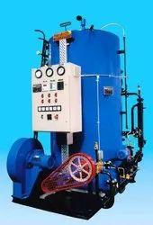 Oil & Gas Fired 750 kg/hr Vertical Steam Boiler, Non-IBR