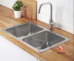 Hand Made Stainless Steel Kitchen Sink
