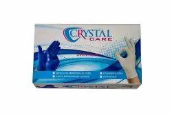 Crystal Latex Gloves (Small, Medium, Large)