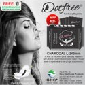 Dotfree 240mm Charcoal Sanitary Napkins