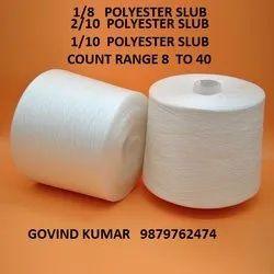 Polyester Slub Yarn  10  2/10