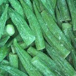 A Grade Frozen Whole Okra, Packaging Size: 10 Kg, Iqf