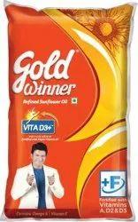 Gold Winner Oil Wholesaler, Packaging Size: 1 litre