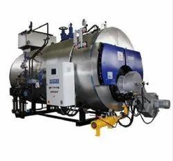 Oil Fired 2000 kg/hr Package Steam Boiler IBR Approved