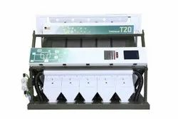 Groundnut color Sorting Machine T20 - 5 Chute