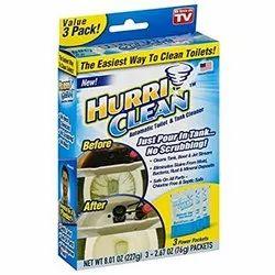 Hurriclean Toilet Cleaner Powder