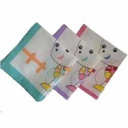Multicolor Printed Kids Handkerchiefs