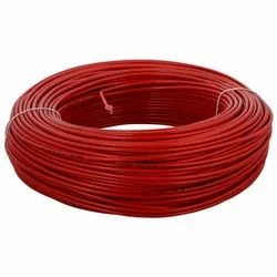 Number Of Cores: 3 Core Red PVC Insulated Copper Wire
