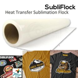 Heat Transfer Sublimation Flock
