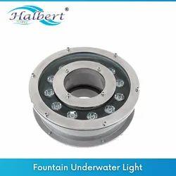 Fountain Under Water Light