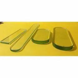 Transparent 18 Mm Plain Toughened Glass, For Partition,Window etc., Shape: Flat