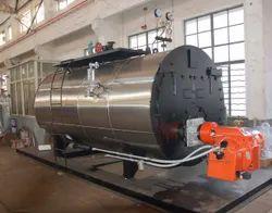 Oil & Gas Fired 10 TPH Fully Wetback Steam Boiler IBR Approved