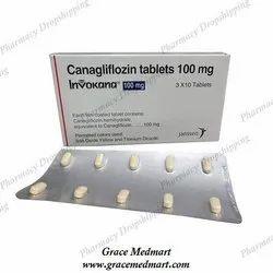 Invokana 100 Mg Tablets
