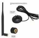 Rubber Duck GSM Antenna 5dBi with Magnetic Base with SMA Male Plug Connector