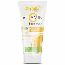 Herbal Orgello Vitamin C Face Wash, Age Group: Adults, Packaging Size: 100 ml