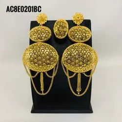 New Arrival High Quality Gold Plated  Earrings For Women