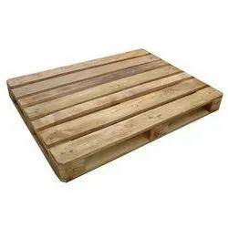 Natural Rubber Wood Pallet Box