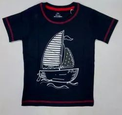 Kids Embroidery T Shirt