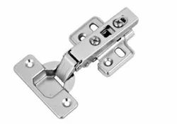 Slimline Stainless Steel Clip On Cabinet Hydraulic Hinges-8 Degrees