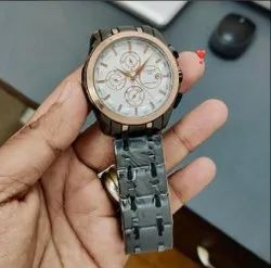 Gray Tissot Watch
