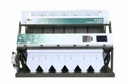 Pulses Color Sorting machine T20 - 6 Chute