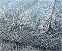 Stainless Steel Galvanized Chain Link Fence, 3 inch, Wire Diameter: 4 mm
