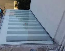 Toughened Roof Glass Work