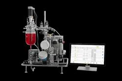 Solaris Biotechnology - Kronos With Standard Benchtop Tangential Flow Filtration (TFF) System