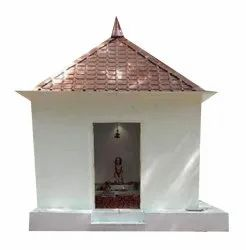 Painting Red and White GI Portable Temple