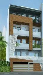 50 Concrete Frame Structures Residential Construction Service, Delhi