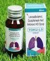 Toku-ls Levosalbutamol Guaiphenesin & Ambroxol Hcl Syrup, 60 Ml