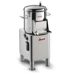 Sirman Potato Peeler Machine PPJ20SC Power:1100 Watt-1.5 HP Output:340KG/H Cap.20 KG
