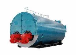 Wood Fired 500 kg/hr Packaged Steam Boiler, Non-IBR