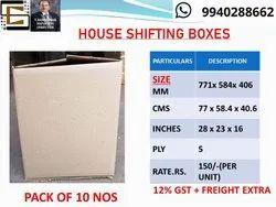 House Shift Corrugated Cartons