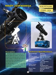 Dr. Mady 8 Inch 203mm EQ4 Mount Reflector Telescope