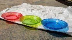 Plastic Pet Material Dish (Fancy Plate)