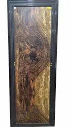 5.4feet Wooden PVC Door, For Home, Exterior