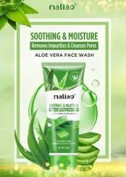Maliao Aloe Vera Face Wash, For Parlour, Packaging Size: 130g