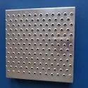 Gi Dimple Perforated Sheet